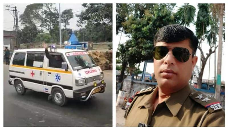 Police officer and civic volunteer killed in an road accident in Islampore