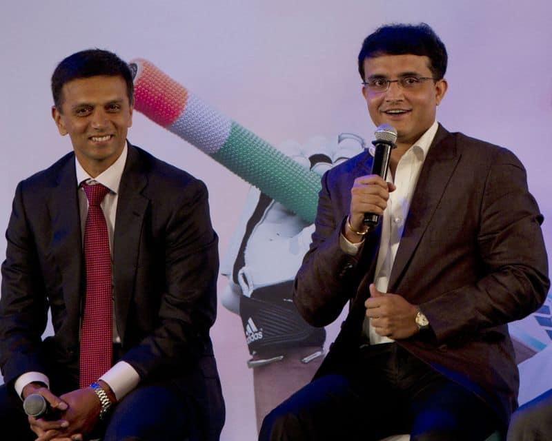 Former Pakistan pacer Yasir Arafat is in awe of Indian cricket legends Rahul Dravid and Sourav Ganguly