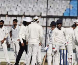 shubman gill abuses umpire after being given out in domestic match