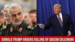 Qasem Soleimani dies in a drone attack by the USA