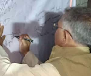 Dilip Ghosh started mass signature collection campaign to support CAA