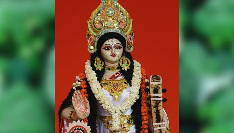 This year Saraswati Pujo will continue for two days