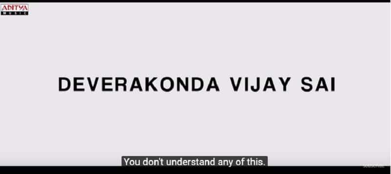 tollywood actor Vijay deverakonda world famous official teaser