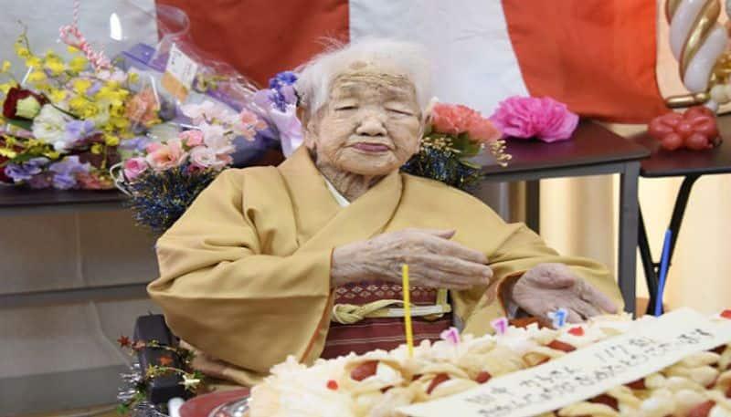 Worlds oldest person Kane Tanaka celebrate her 117th birthday