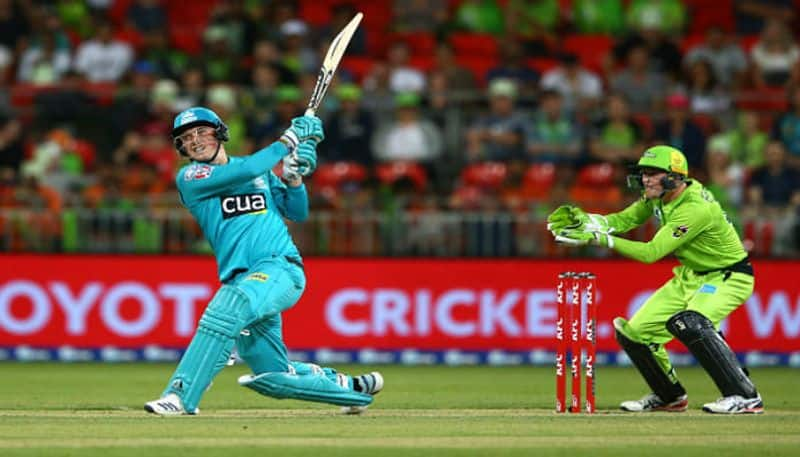 New recruit of KKR hits five consecutive sixes in an over in Big Bash