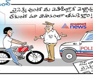 Cartoon punch: drivers without licence to be sent jail ap govt