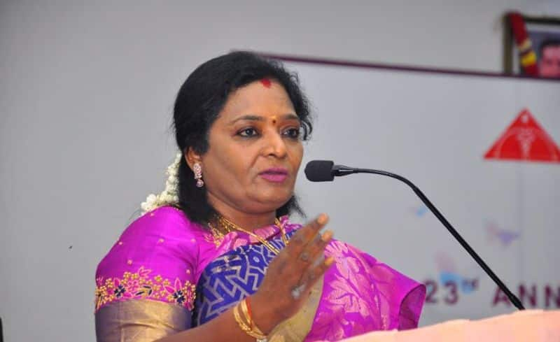 Telangana governor tamilisai plans to meeting with officers on corona