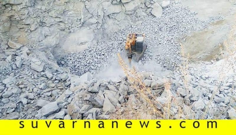 dc visits Baby Hill in Mandya