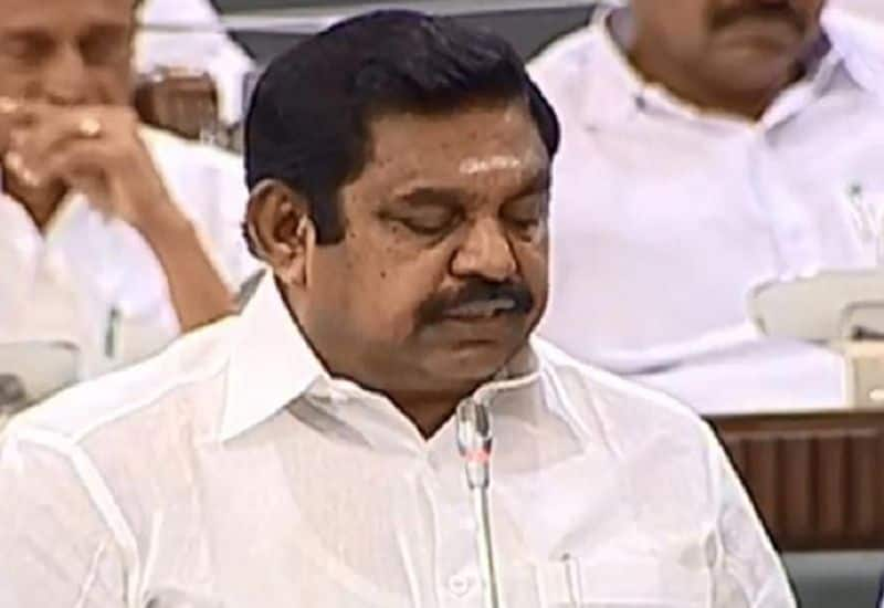 Violent forces are the cause of violence !! Chief Minister Edappadi Palanisamy is a sensational allegation.