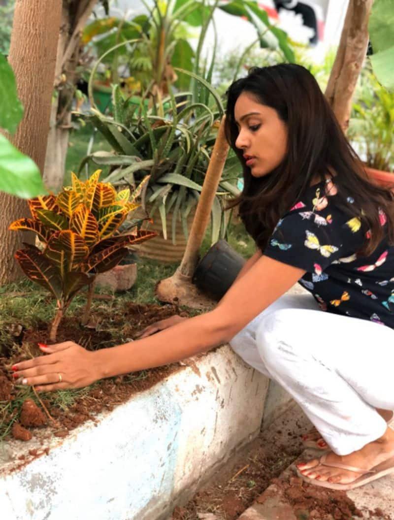 Bigg Boss 3 Vithika Sheru green india challenge