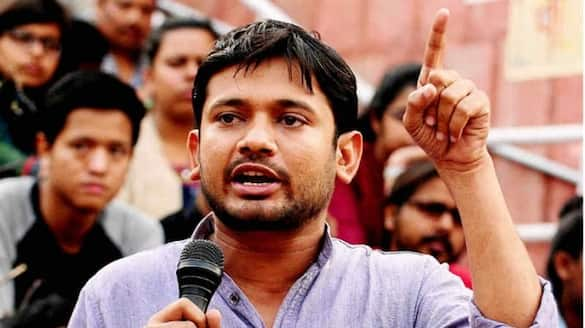 Kanhaiya Kumar removed AC installed in his room in CPI part office in patna
