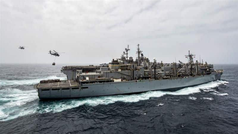 Indian war ships are ready