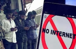 No internet in kashmir  for past some months