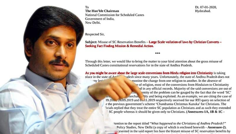 Warning bells! Largescale conversion of Hindus, rampant misuse of SC reservation benefits in Andhra Pradesh