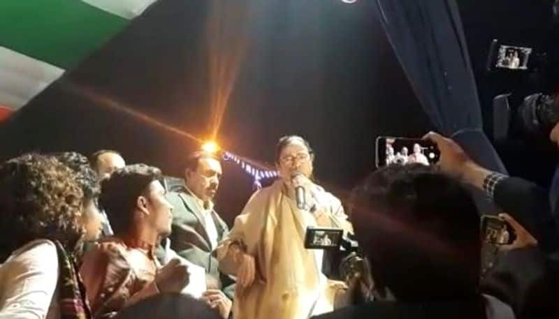Mamata Banerjee calls tmc cadres to free student gherao