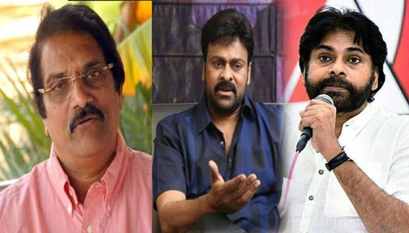 Tollywood producer Aswani Dutt sensational comments on Chiranjeevi