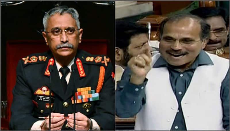 Talk Less, Work More, Congress leader Adhir Ranjan Chowdhury suggests Army Chief
