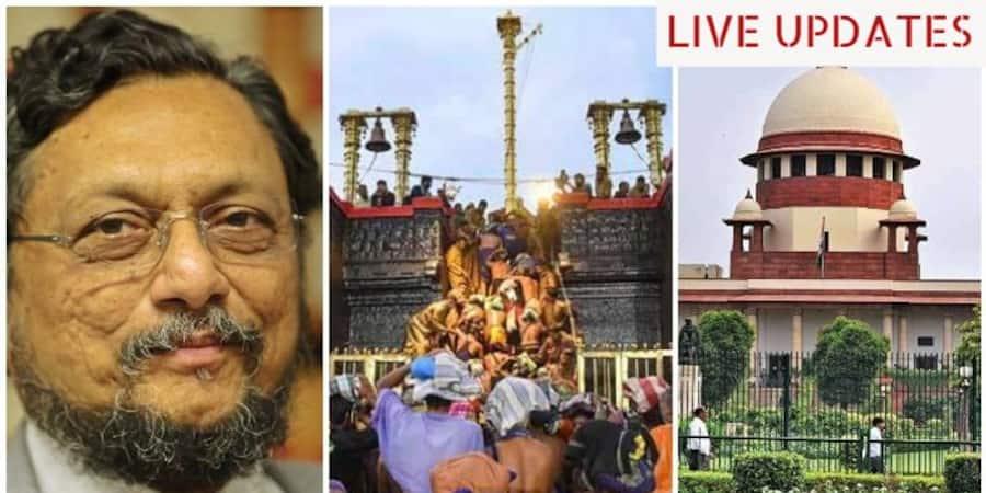 9 member constitution bench in sabarimala pleas live updates