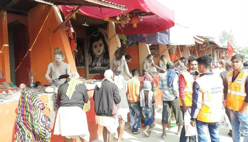 Monks at Gangasagar fair are divided on issue of supporting CAA