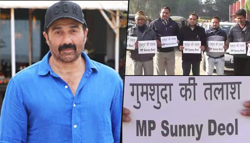 Posters surface in Pathankot declaring BJP MP Sunny Deol as missing