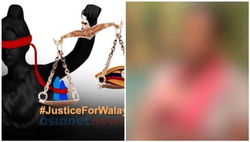 walayar case, mother protest continues
