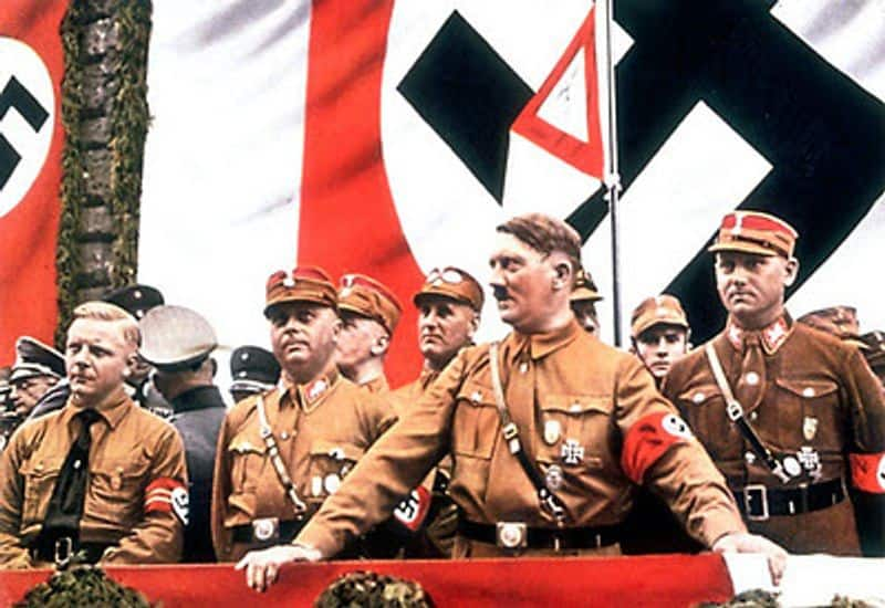 Role of Nazi Brown shirts in making Hitler the Fuhrer