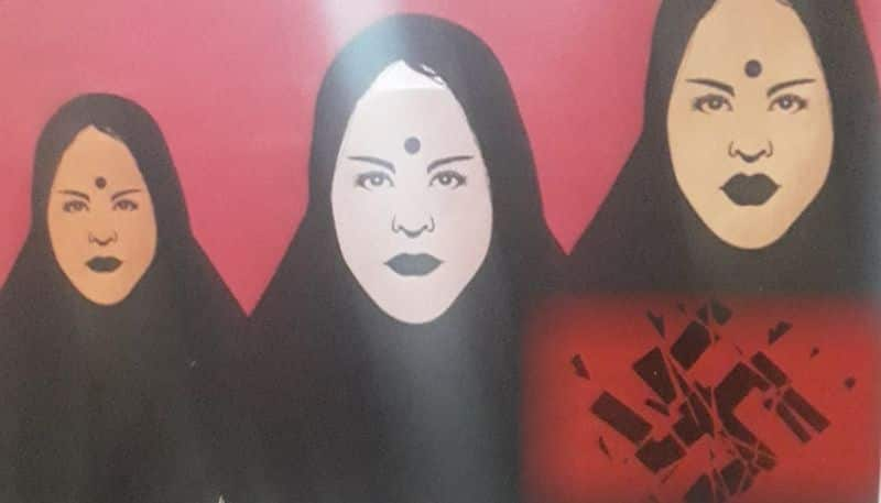 Shaheen Bagh protest: Saba Naqvi does it again; shares poster with 'shattered swastik' on Twitter, hurts Hindu sentiments