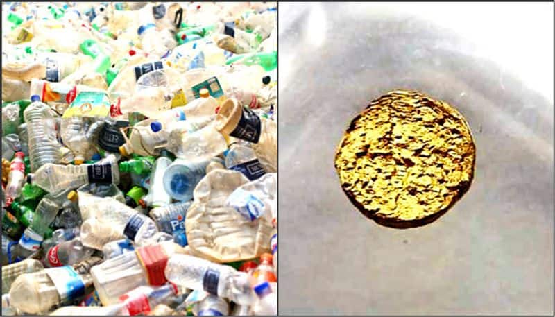 Swiss scientists made 18 carat gold through plastic, it is 10 times lighter