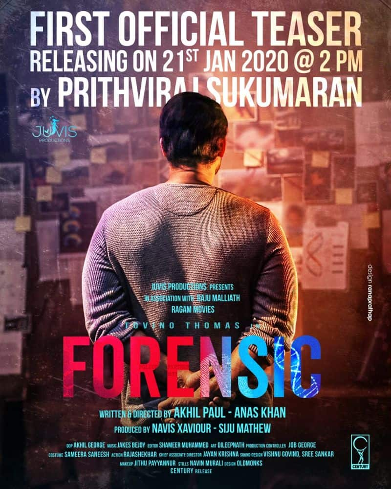 Forensic: First teaser to be released on January 21