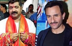 Saif Ali Khan and BJP MLA