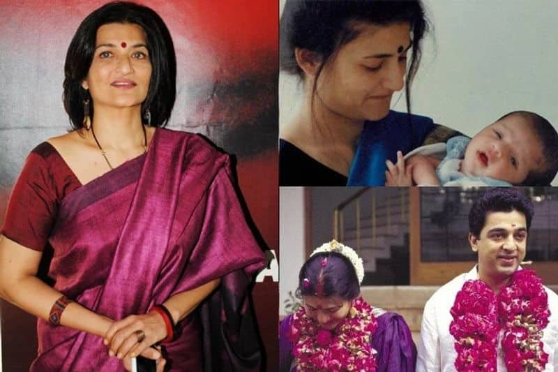 Sarika: Sarika and the versatile actor Kamal Hassan entered a live-in relationship just after his divorce to dancer Vani Ganapathy. The affair led to the birth of actress Shruti Hassan. The couple tied the knot later and, post the wedding, Sarika gave birth to their second child, Akshara.