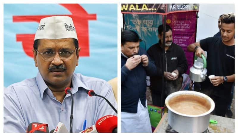 AAP launches 'kaam ki chai' campaign in Delhi