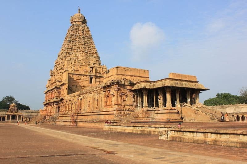 heavy protection for thanjavur temple kudamuluku