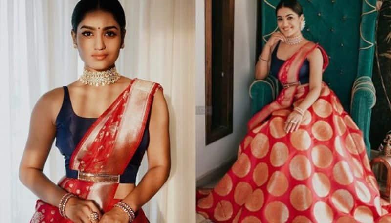 saniya iyappan shares new photos in ethnic look