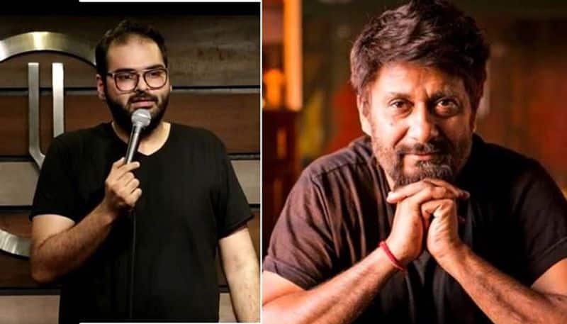Filmmaker Vivek Agnihotri exposes Kunal Kamra for trying to peddle fake news on Rohit Vemula's suicide