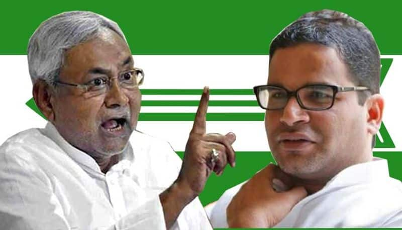 JDU joust out in open as Nitish Kumar suggests another member Prashant Kishore to quit