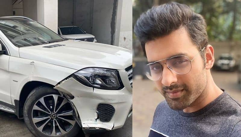 Ankush hazra faced accident on highway