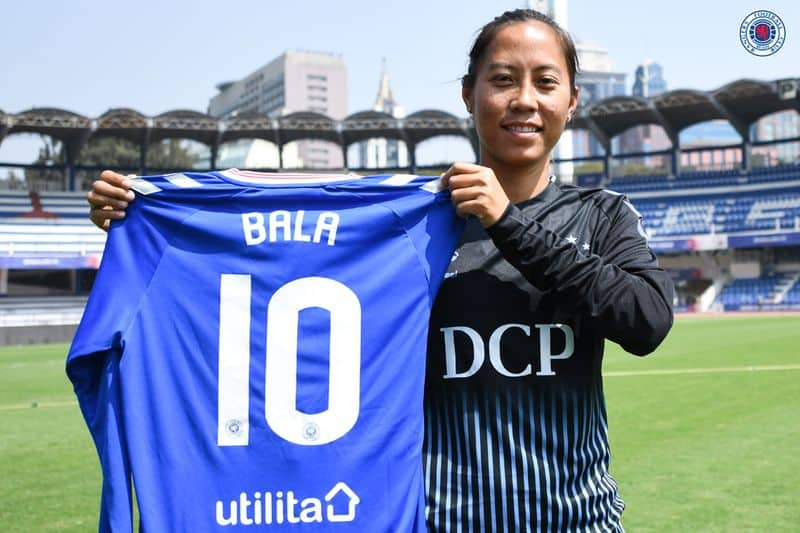 Bala devi become first Indian women going to play foreign football league