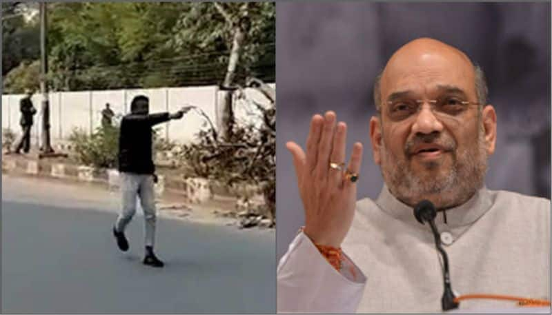 Jamia firing incident Amit Shah's conspiracy to delay Delhi Elections, AAP accuses
