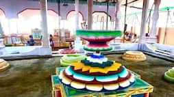 வண்ணமயத்தில் யாககுண்டம்