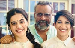"Actor Taapsee Pannu shared the trailer of the film on her social media pages and tweeted, ""Haan bas EK THAPPAD ..... par nahi maar sakta."" With the trailer speaking about gender roles in the society, it ends with the name of the director Anubhav Sinha being written as 'Anubhav Sushila Sinha' honouring his mother."