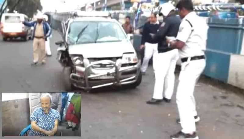 soumitra ray meet car accident on monday afternoon