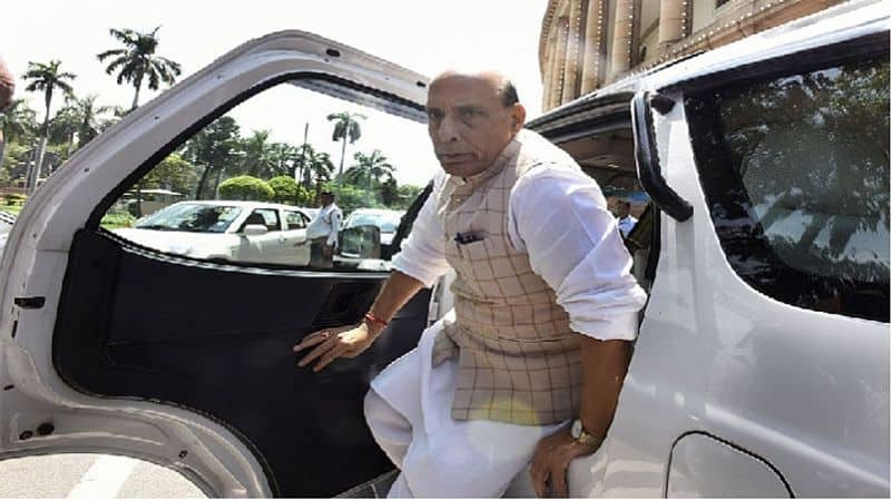 Amid Tensions With China Rajnath Singh Leaves For Russia To Attend 75th Victory Day Parade SS