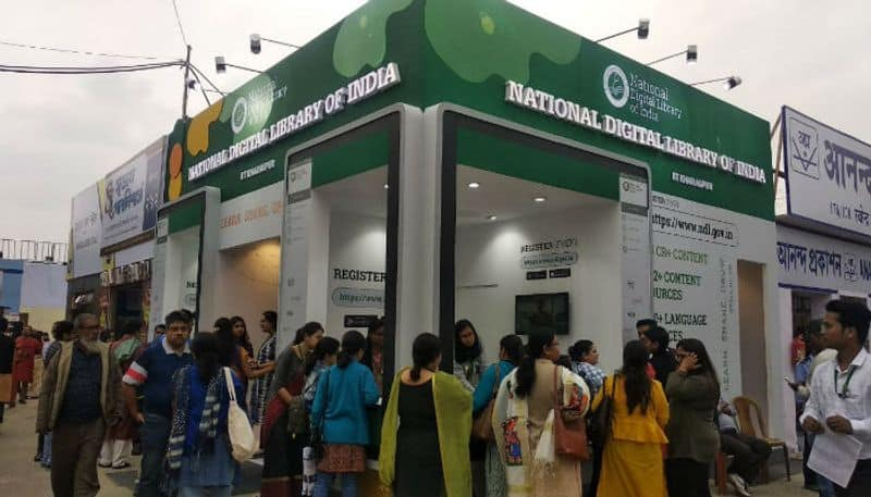National Digital Library at International Kolkata Fook Fair
