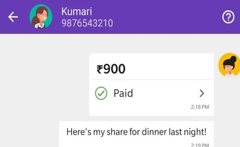 phone pe app launches new chat feature for easy money transactions