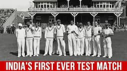 Indian Cricket Highlights Indias First Ever Test Match