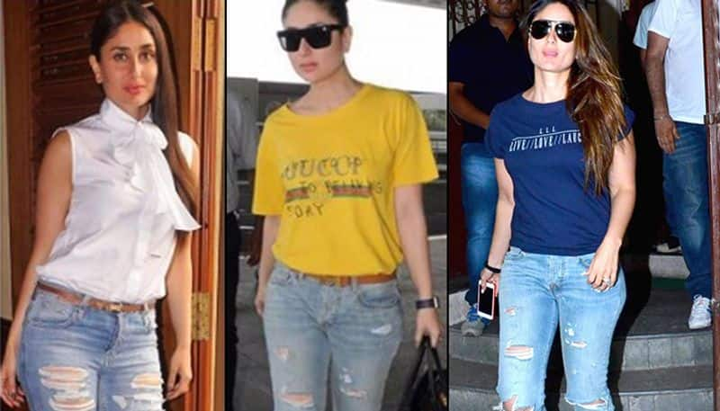 So, don't throw your jeans, if faded or ripped jeans are not in trend, just wait a few years before it's back in style.