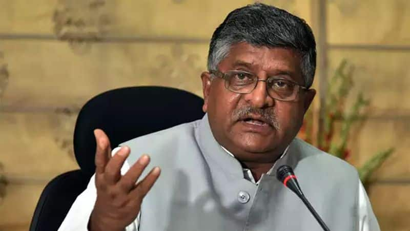 """Union telecom minister Ravishankar Prasad also spoke about direct benefit transfers. He said, """"We have started Direct Benefit Transfer in about 450 schemes. We saved Rs.1,70,000 crore, which was earlier taken by fictitious accounts."""""""