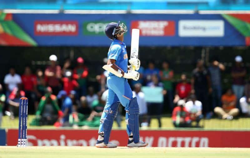 yashasvi jaiswal missed century in u19 world cup final and india set challenging target to bangladesh