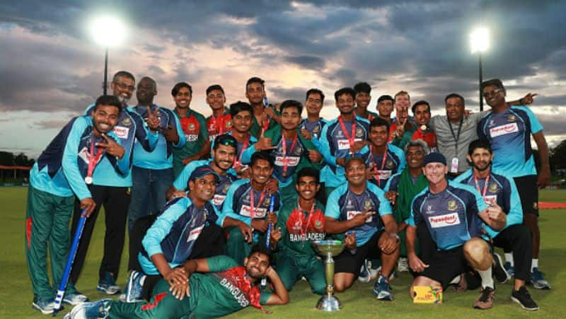 icc takes action against 3 u19 bangladesh and 2 u19 indian players for clash in wolrd cup final